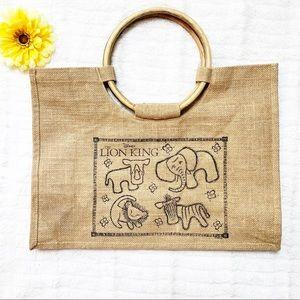 Disney's The Lion King Burlap Handbag